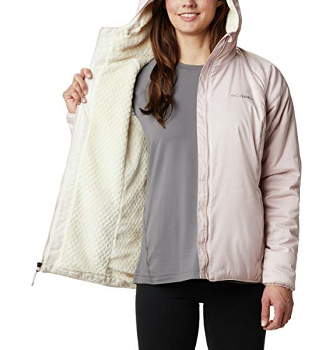 Columbia Women's Kruser Ridge II Plush Softshell Jacket, Mineral Pink Heather, Small image https://images.buyr.com/uB7uczlwuBbtwrbqmmhkVw.jpg1