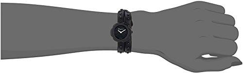 Salvatore Ferragamo Women's Fiore Stainless Steel Quartz Watch with Leather Calfskin Strap, Black, 8 (Model: SFCS00218) image https://images.buyr.com/vOsjPWtaw2rFt6Imfg_BNQ.jpg1