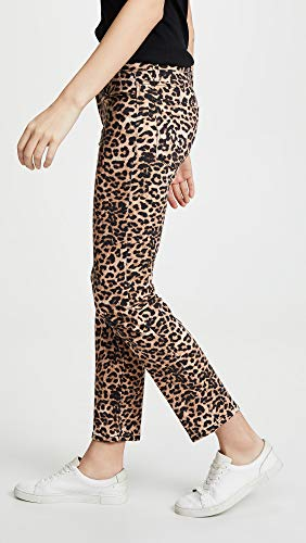 HUDSON Women's Nico Midrise Cigarette Jeans, Classic Leopard, Tan, Print, 26 image https://images.buyr.com/veOdXTgMuD2mhGVPWelzPg.jpg1