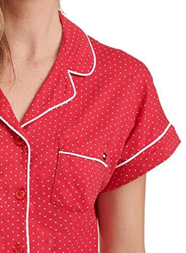 Tommy Hilfiger Womens 2 Piece Pajama Shorts Set (Classic Red Dot, Large) image https://images.buyr.com/w4F3X9CGEVBkw4cqFSRloQ.jpg1
