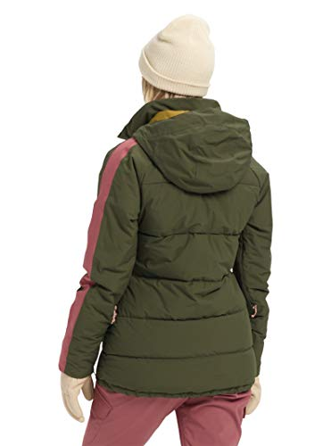 Burton Womens Keelan Jacket, Forest Night/Rose Brown, Medium image https://images.buyr.com/wCQ0IKxaA5tolYP36oExfw.jpg1