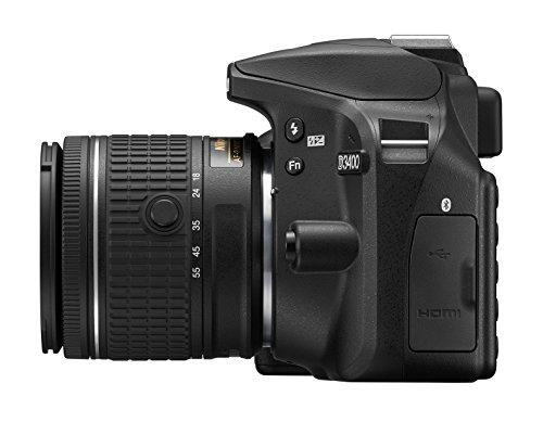 Nikon D3400 w/ AF-P DX NIKKOR 18-55mm f/3.5-5.6G VR (Black) image https://images.buyr.com/wDiugAZ5AFll6d3l6hNTqw.jpg1