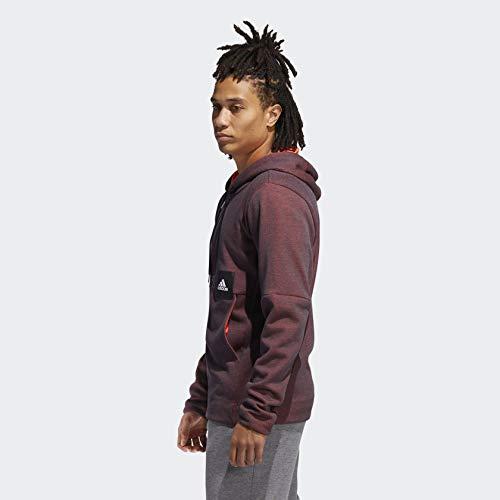adidas Men's Cross-Up 365 Full-Zip Solar Red X-Large image https://images.buyr.com/wTWFdjV0ZjCU_cm5rS2mjg.jpg1