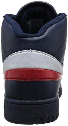 Fila Men's f-13v lea/syn Fashion Sneaker, Navy/White Red, 8.5 M US image https://images.buyr.com/yJdAkQJaqBHTqsCgDjeCEg.jpg1