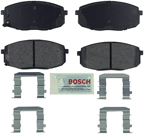 Bosch BE841H Blue Disc Brake Pad Set with Hardware