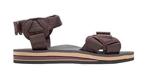 Rainbow Sandals Men's Double Layer Rubber Trekker w/Adjustable Velcro Straps Brown, Men's Large / 9.5-10.5 D(M) US image https://images.buyr.com/zA0pkL9t8qt1iPY9NhPUXQ.jpg1